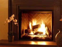 Electric Fireplaces vs. Real Fireplaces